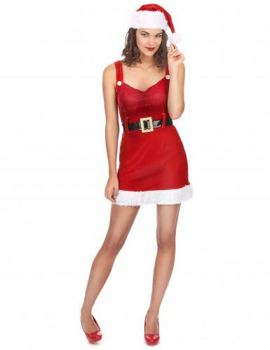 Costume da donna adulta mamma Natale sexy