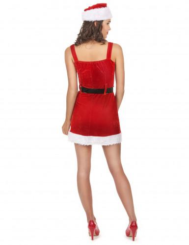 Costume da donna adulta mamma Natale sexy-2