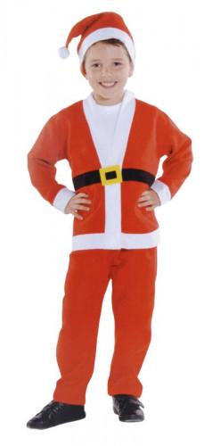 Costume rosso Babbo Natale ragazzo