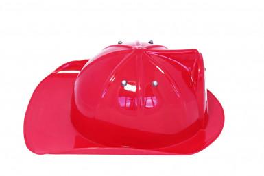 Casco da Pompiere di colore rosso-1