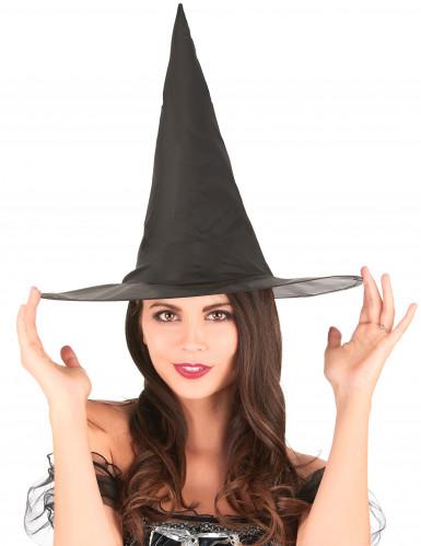 Cappello nero da strega per bambina-1