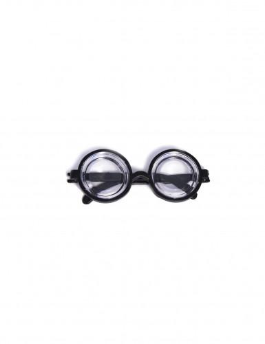 Occhiali in plastica da secchione-1