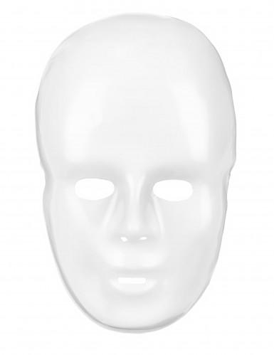 Maschera bianca neutra 20 x 15 cm