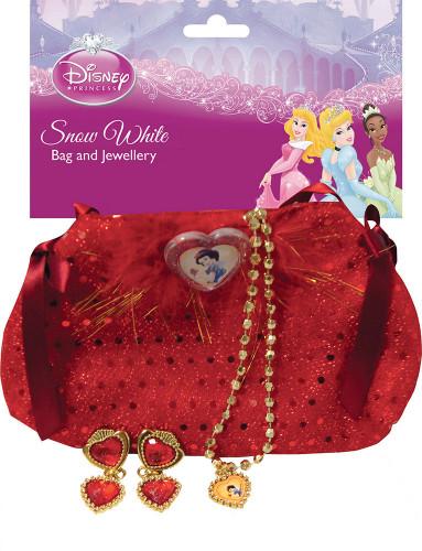 Kit borsa e gioielli Biancaneve Bambina