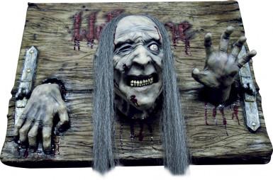 Decorazione zombie per Halloween Welcome