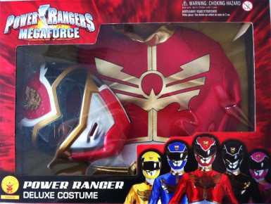 Costume originale da Power Ranger Megaforce™ rosso per bambino-1