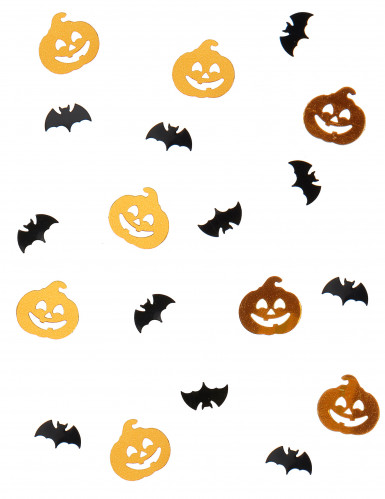Coriandoli zucca e pipistrello Halloween 14 grammi