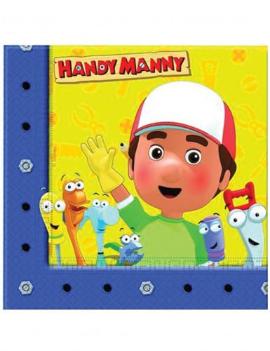 Confezione 20 tovaglioli di carta Handy Manny