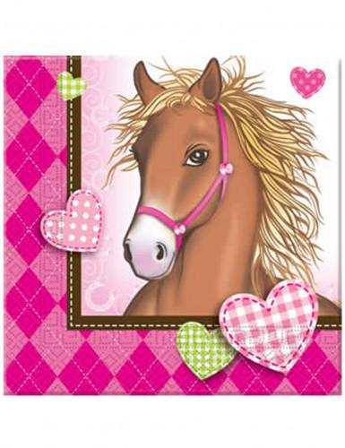 20 tovaglioli di carta Cavallo 33x33 cm