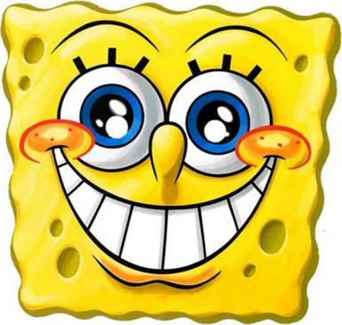 Maschera in cartone di SpongeBob™