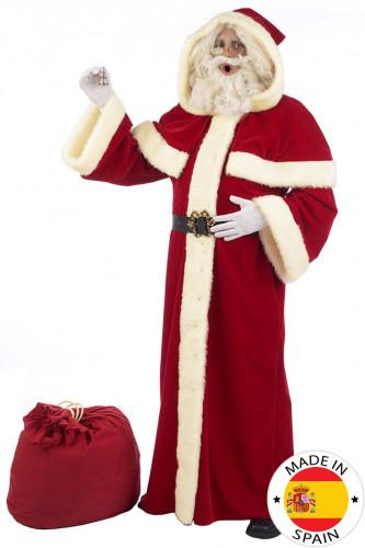 Costume da Babbo Natale di lusso per adulto