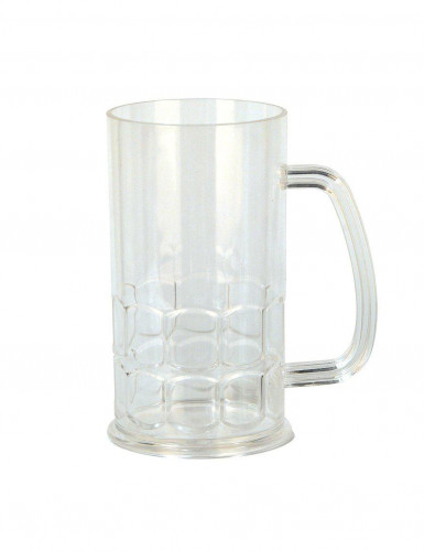 Classico boccale per birra in plastica