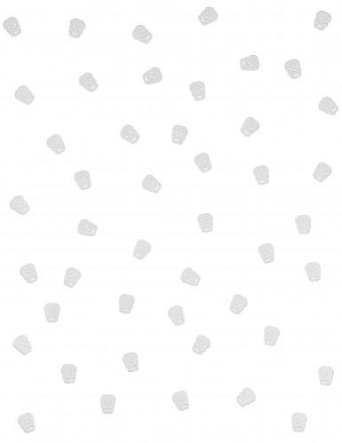 Coriandoli a forma di teschio per Halloween-1