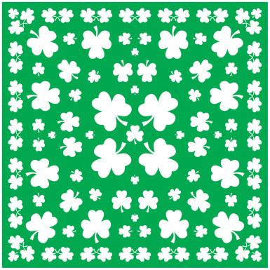 Bandana verde Saint Patrick