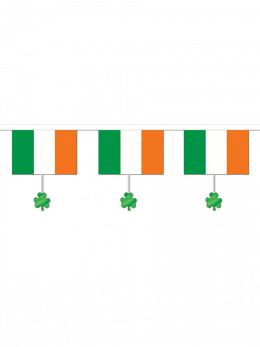 Ghirlanda irlandese con trifoglio