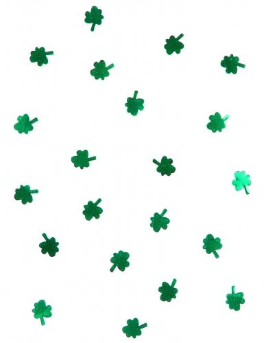 Coriandoli a forma di trifoglio per festa di St Patrick