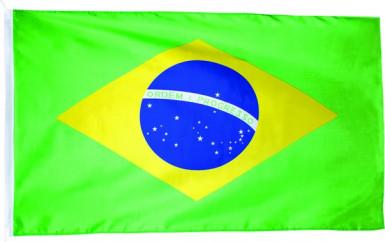 Bandiera del Brasile misure 90 x 150 cm