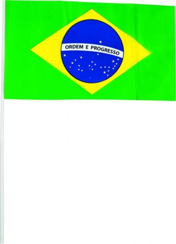 20 Bandierine Verdi Brasile