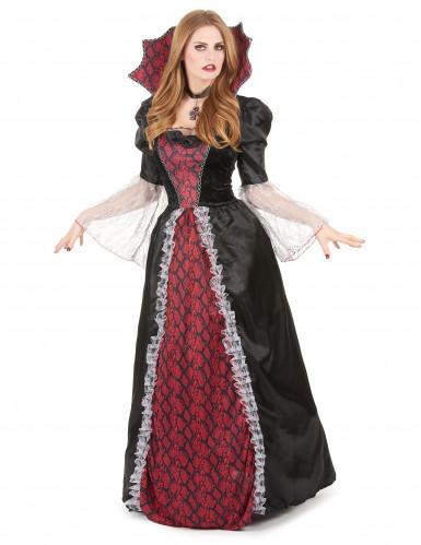 Costume vampira da donna tema Halloween