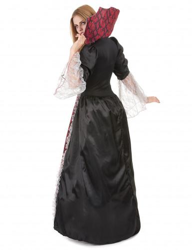 Costume vampira da donna tema Halloween-2
