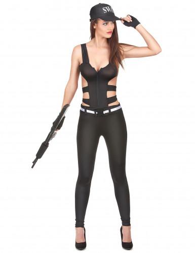 Costume sexy da poliziotto SWAT per donna