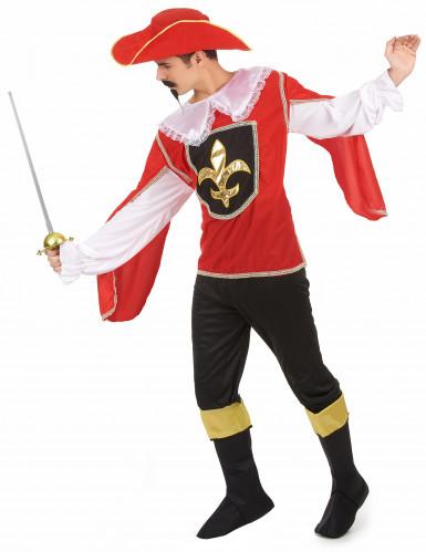Costume moschettiere da uomo-1