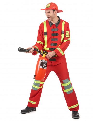 Costume da pompiere per uomo-1