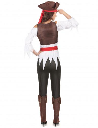 Costume da pirata con pantalone per donna-2