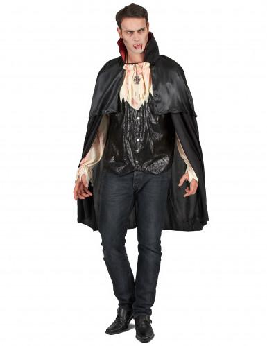 Costume da vampiro nero per uomo
