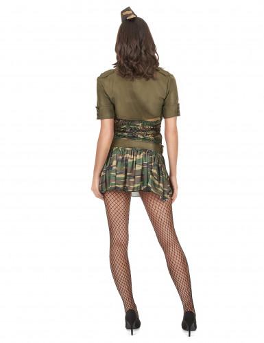Costume da soldatessa per adulti-2
