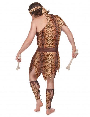 Costume da uomo delle caverne per adulto-2