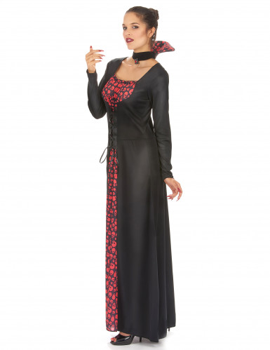 Costume da donna vampiro per Halloween-1