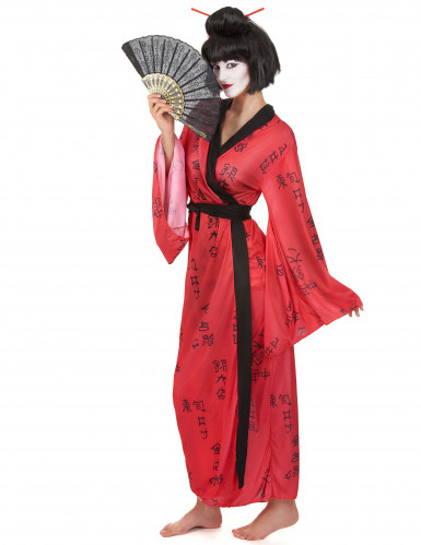 Costume Geisha giapponese da donna-1