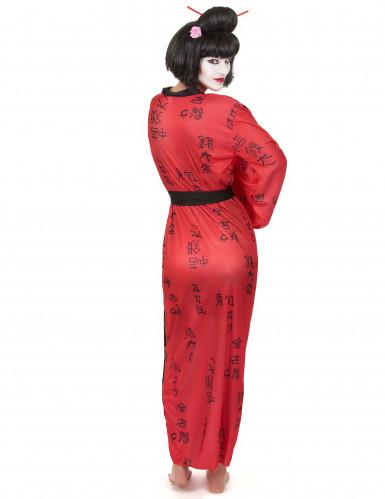 Costume Geisha giapponese da donna-2