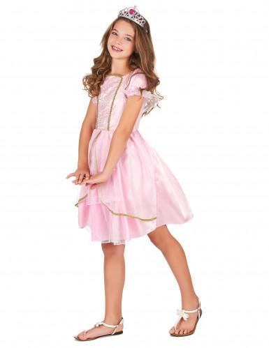 Costume principessa in lilla per bambina-1