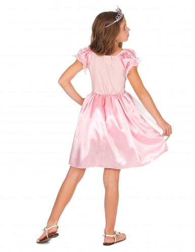 Costume principessa in lilla per bambina-2