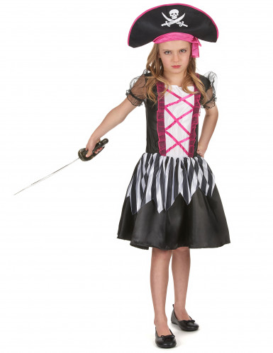 Costume di carnevale da bambina piratessa