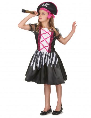 Costume di carnevale da bambina piratessa-1