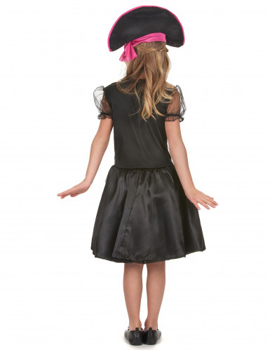 Costume di carnevale da bambina piratessa-2