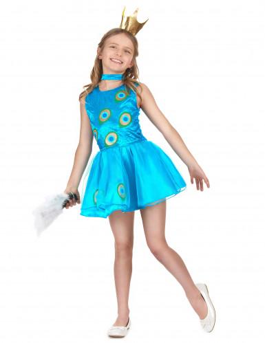 Costume da principessina pavone per bambina