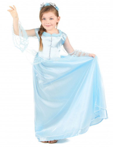 Costume principessa azzurra per bambina-1