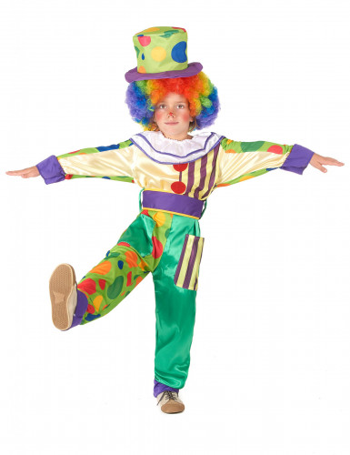 Costume da clown per bimbo
