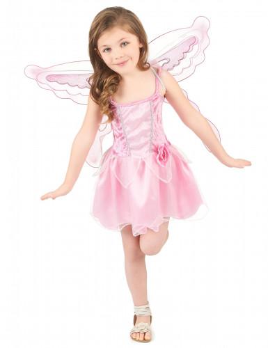 Costume da fatina rosa per bambina