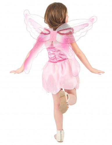 Costume da fatina rosa per bambina-2