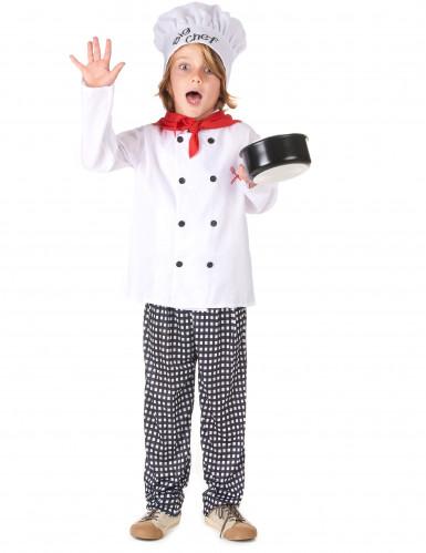 Costume per bambino da chef