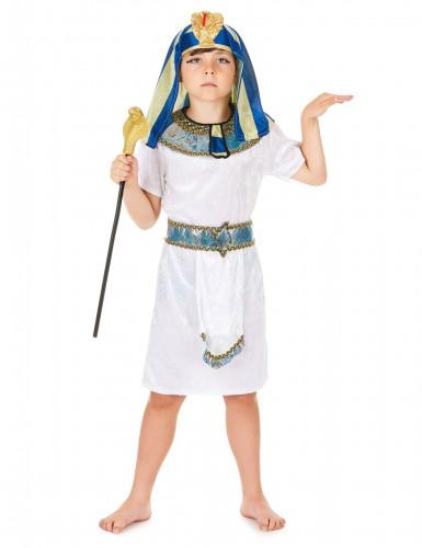 Costume da faraone dell'antico Egitto per bambino