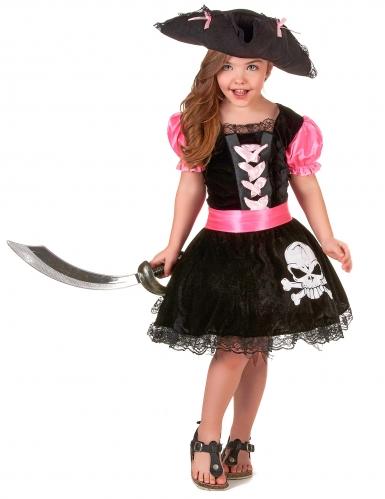 Costume di Carnevale da pirata per bambina