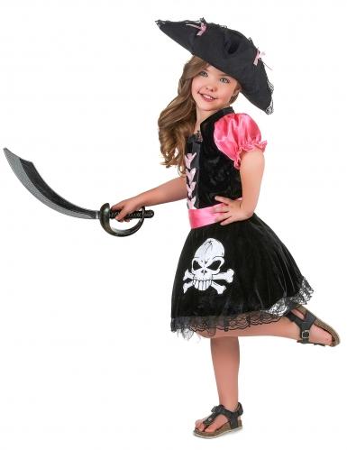 Costume di Carnevale da pirata per bambina-1