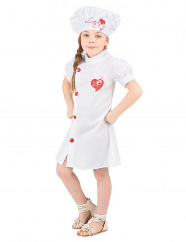 Costume per bambina da cuoca-1