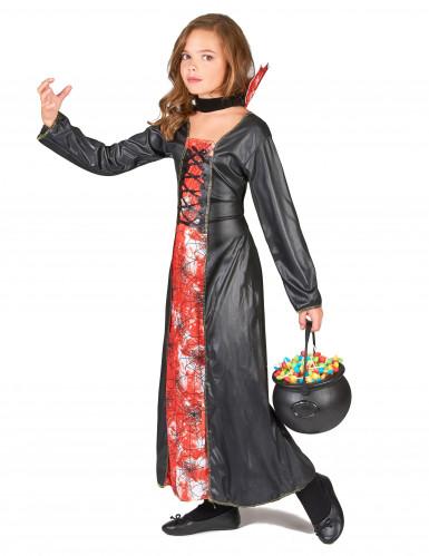 Costume da regina ragno per bambina-1
